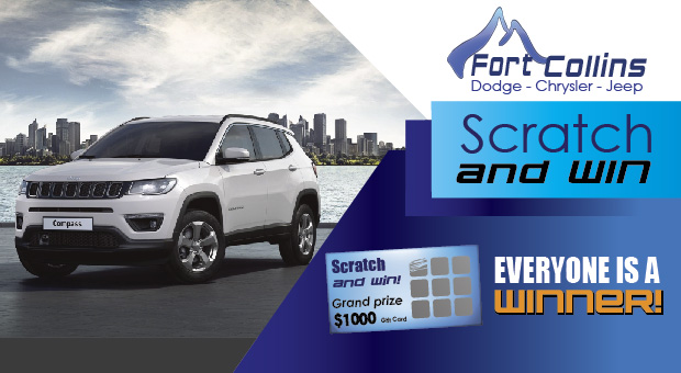 Fort Collins Dodge >> Everyone Is A Winner At Fort Collins Dodge Chrysler Jeep